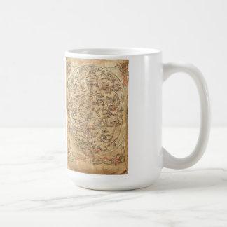 The Sawley Map Imago Mundi Honorius Augustodunensi Coffee Mug