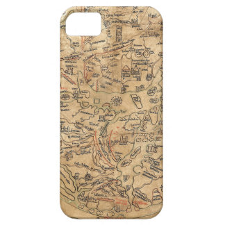 The Sawley Map Imago Mundi Honorius Augustodunensi iPhone SE/5/5s Case