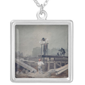 The Sawpit Silver Plated Necklace