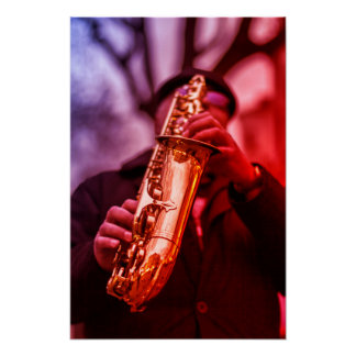 The Sax Man Poster