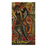 THE SAX PLAYER PRINT