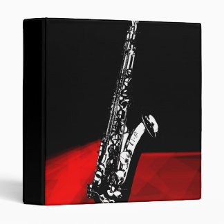 The Saxophone 3 Ring Binders
