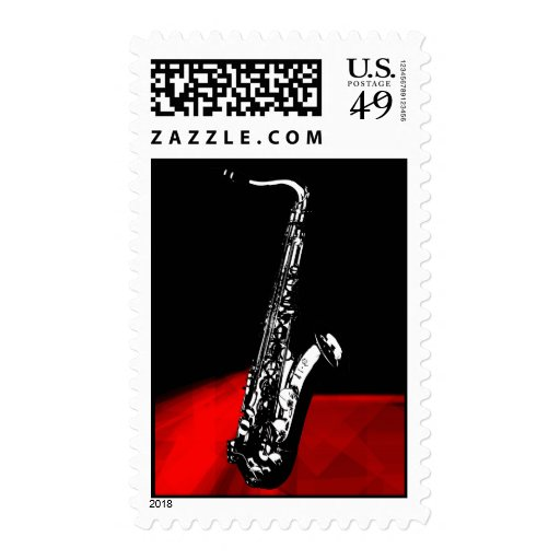 The Saxophone Stamps