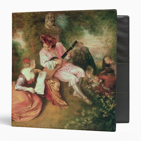 The Scale of Love, 1715-18 3 Ring Binder