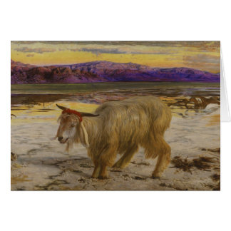 The Scapegoat by William Holman Hunt Card