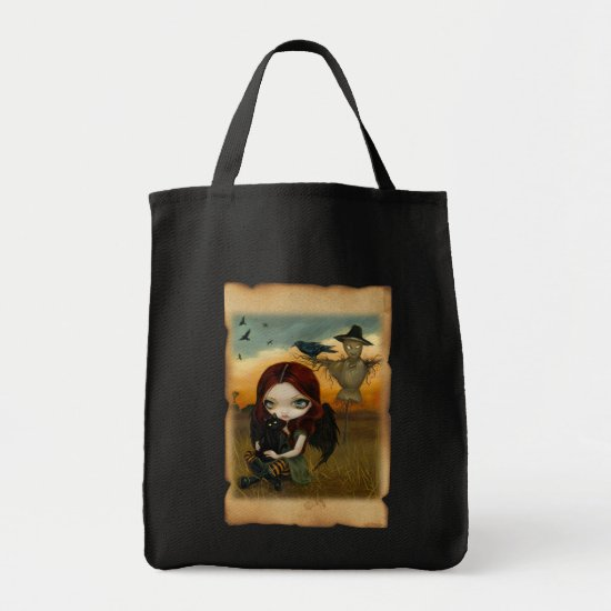 The Scarecrow - Halloween Fairy - crow, cat Bag
