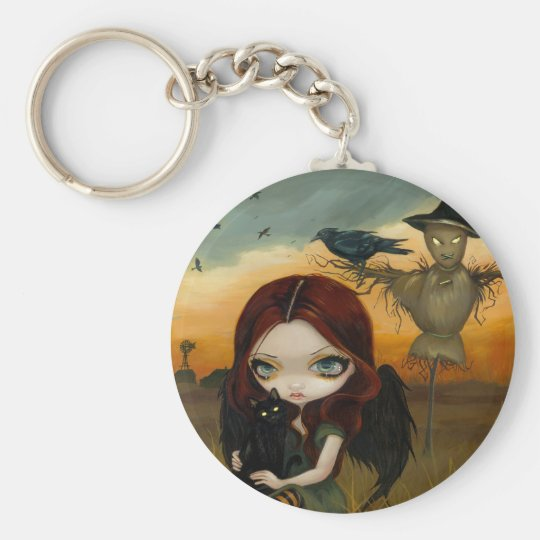 """The Scarecrow"" Keychain"