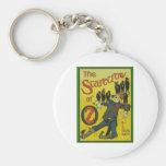 The Scarecrow Of Oz Basic Round Button Keychain