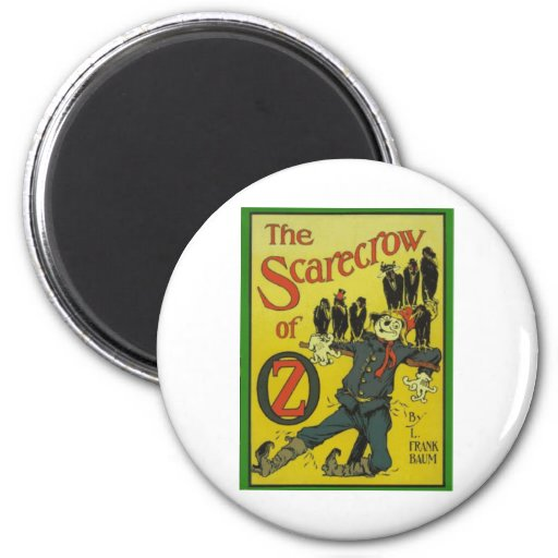 The Scarecrow Of Oz Fridge Magnets