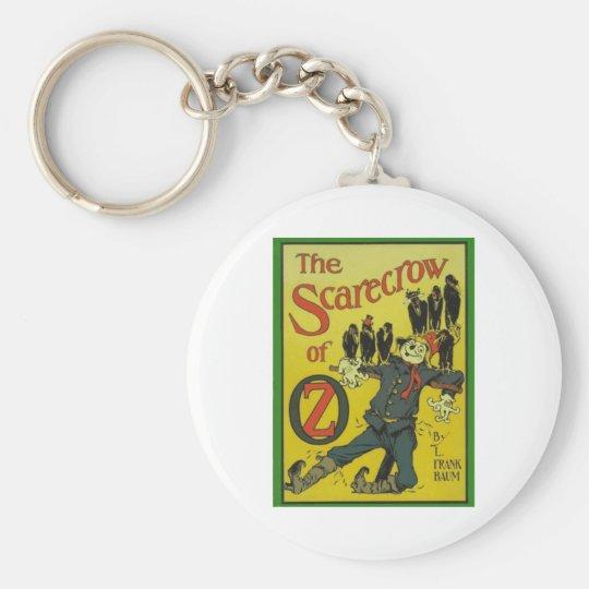 The Scarecrow Of Oz Keychain