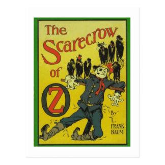 The Scarecrow Of Oz Postcard