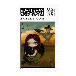 """""""The Scarecrow"""" Stamp"""