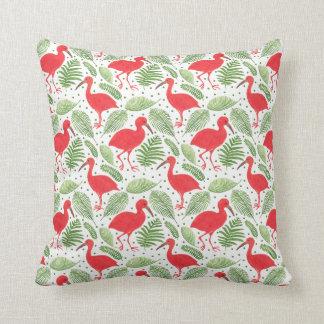 The Scarlet Ibis Throw Pillow