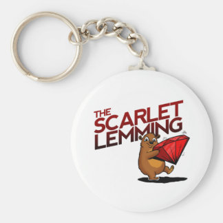 The Scarlet Lemming (with title) keychains