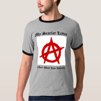 the Scarlet Letter [08847642] T-Shirt