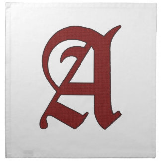 The Scarlet Letter Cloth Napkin