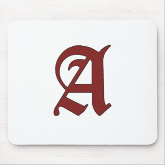 The Scarlet Letter Mouse Pad