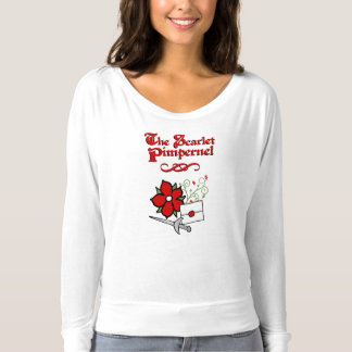 The Scarlet Pimpernel ladies shirt