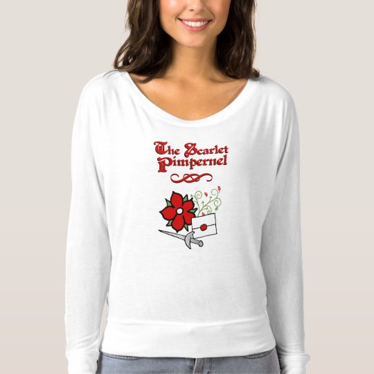 The Scarlet Pimpernel ladies shirt