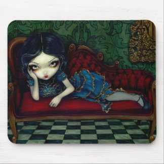 """The Scarlet Sofa"" Mousepad"