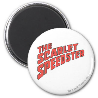 The Scarlet Speedster Logo 2 Inch Round Magnet