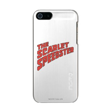 The Scarlet Speedster Logo Metallic Phone Case For iPhone SE/5/5s