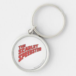 The Scarlet Speedster Logo Keychain