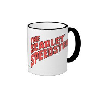 The Scarlet Speedster Logo Ringer Mug