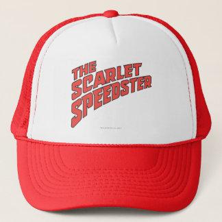 The Scarlet Speedster Logo Trucker Hat