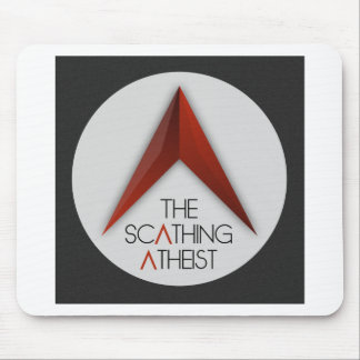 The Scathing Atheist Mouse Pad