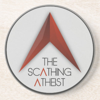 The Scathing Atheist Sandstone Coaster