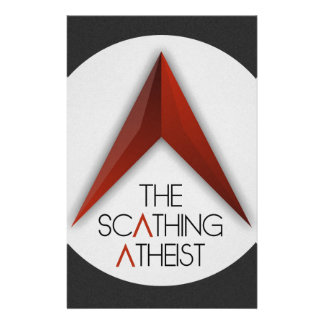 The Scathing Atheist Stationery