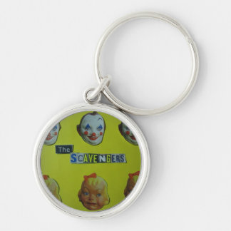 The  Scavengers happy face Keychain