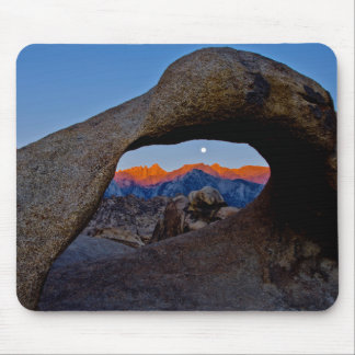 The Scenic Alabama Hills Nestled Mouse Pad