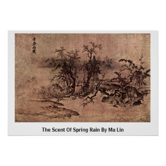 The Scent Of Spring Rain By Ma Lin Poster