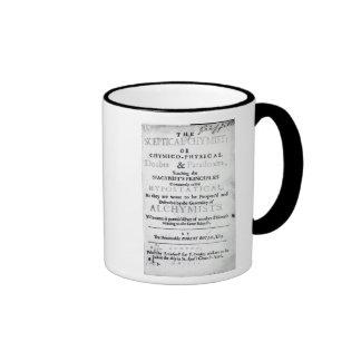 'The Sceptical Chymist' Mug