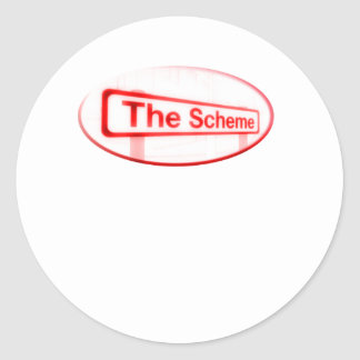The Scheme Classic Round Sticker
