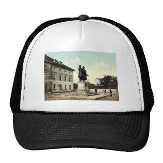The Schiller and Goethe Monument, Weimar, Thuringi Trucker Hats