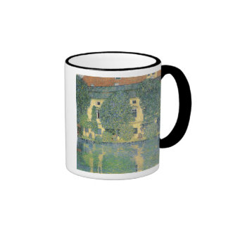 The Schloss Kammer on the Attersee III, 1910 Ringer Coffee Mug