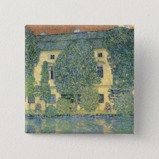 The Schloss Kammer on the Attersee III, 1910 Pinback Button