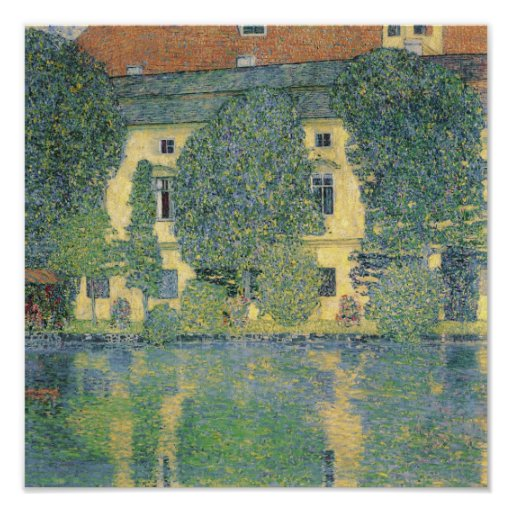 The Schloss Kammer on the Attersee III, 1910 Print