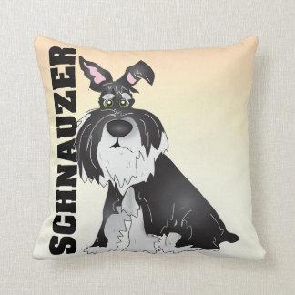The Schnauzer Pillow