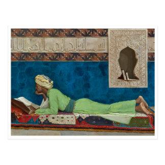 The Scholar by Osman Hamdi Bey Postcard