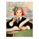 The Scholar Postcard