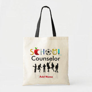 The School Counselor's Custom Tote