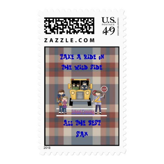The School Crossing Postage