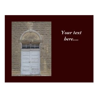 The School House Door Postcard