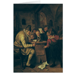 The School Master, 1626-79 Cards