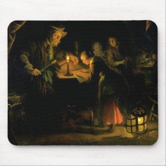 The School Master, 1660-65 (oil on panel) Mouse Pad