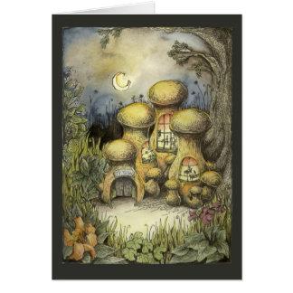 The School Mushroom Card